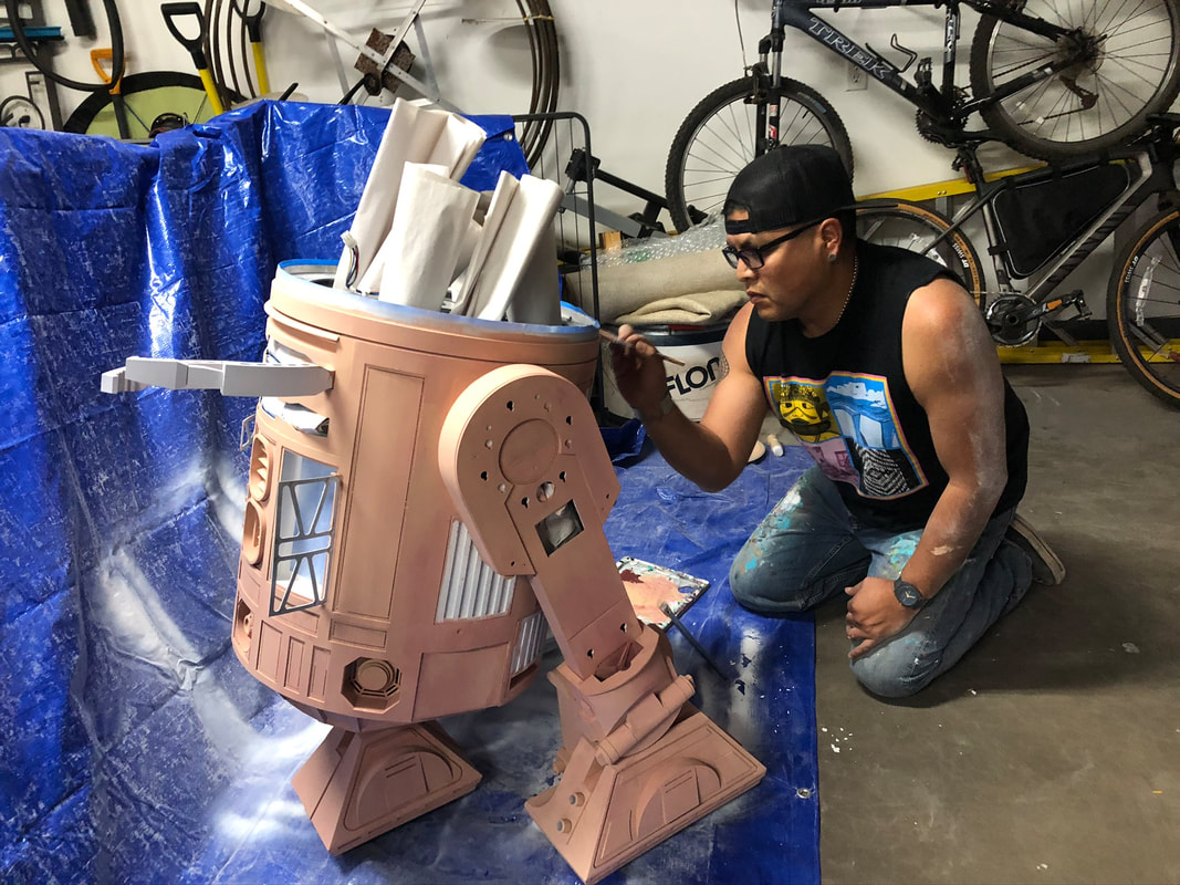 Image of Duane painting HOPI R2